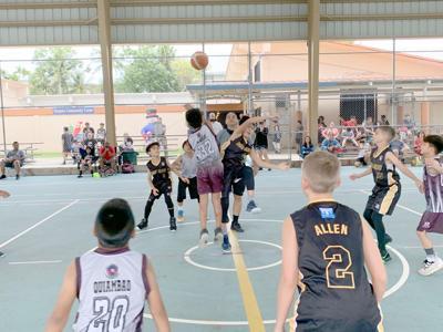 youth hoops basketball