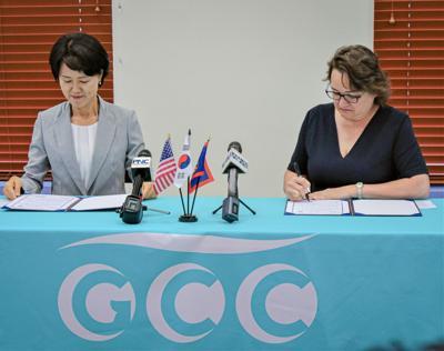 Korean Consul Mary Okada Gcc
