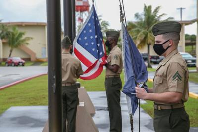 Newest Marine Corps Base Flies Ol Glory For The First Time
