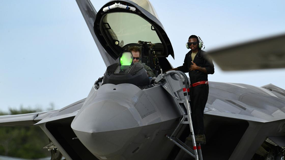 Hear those airplanes? The military is training