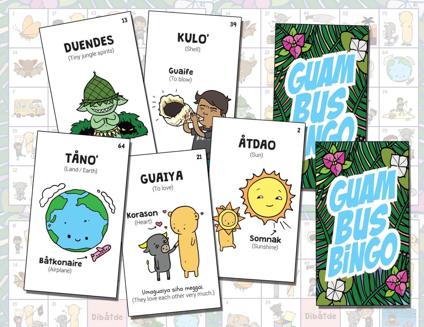 Guam Bus Bingo