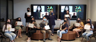 Team Kre8ability wins 2020-21 JA Guam Company Program