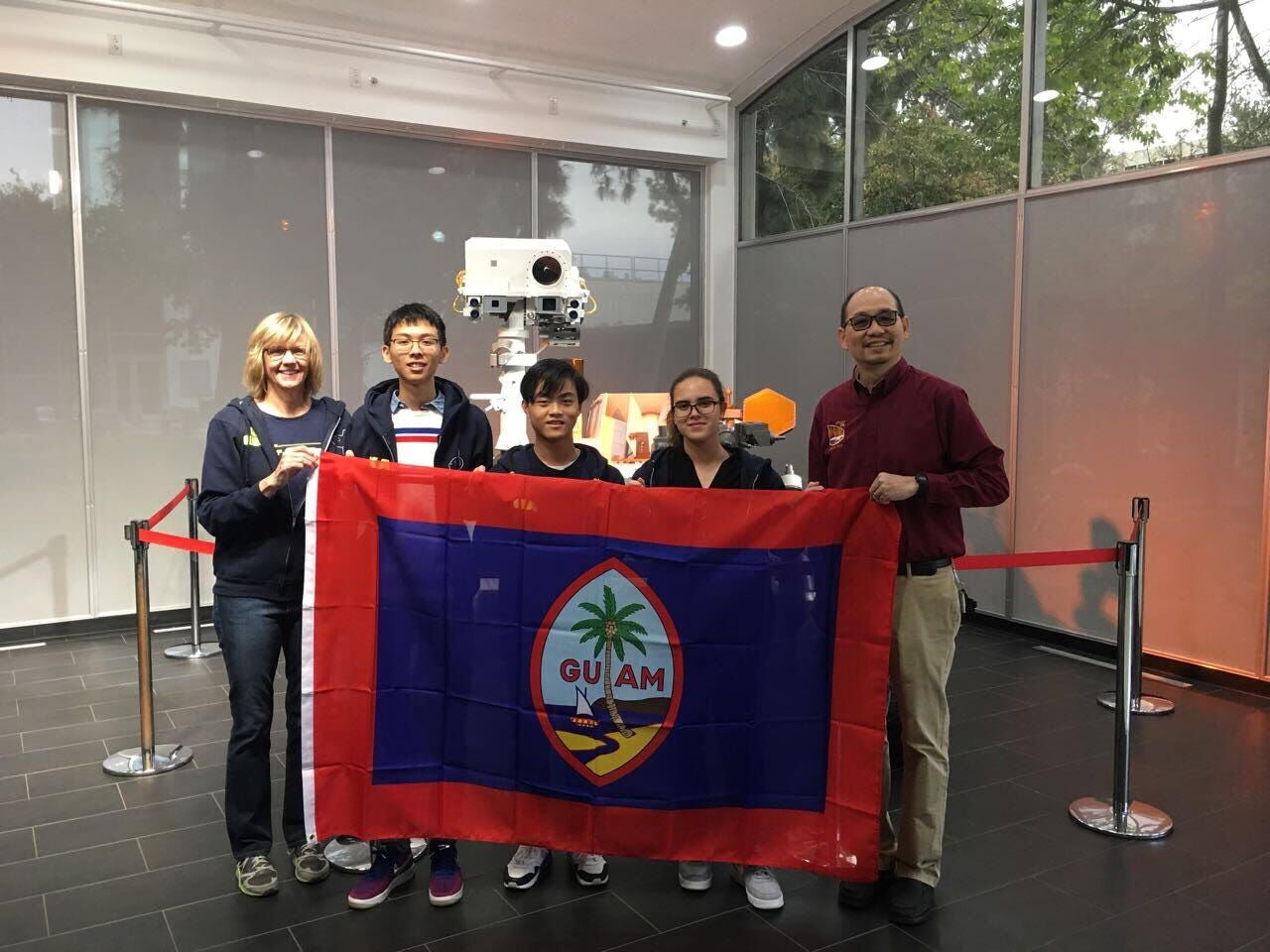 Jpl Team Picture Jfk High School Students And Leo Cheng Dec 2018
