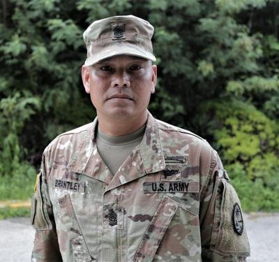 Command Sgt Maj Ron Brantley
