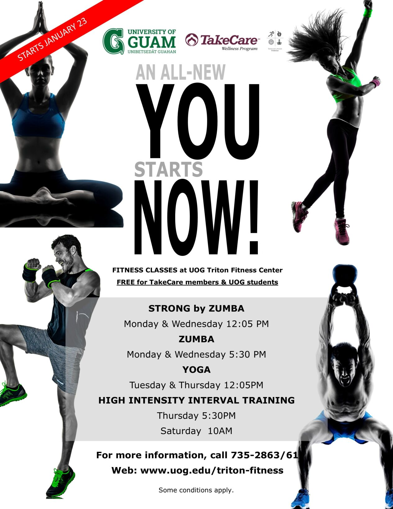UOG Fitness Classes