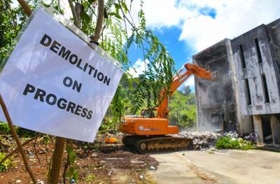 Tumon Demolition 01