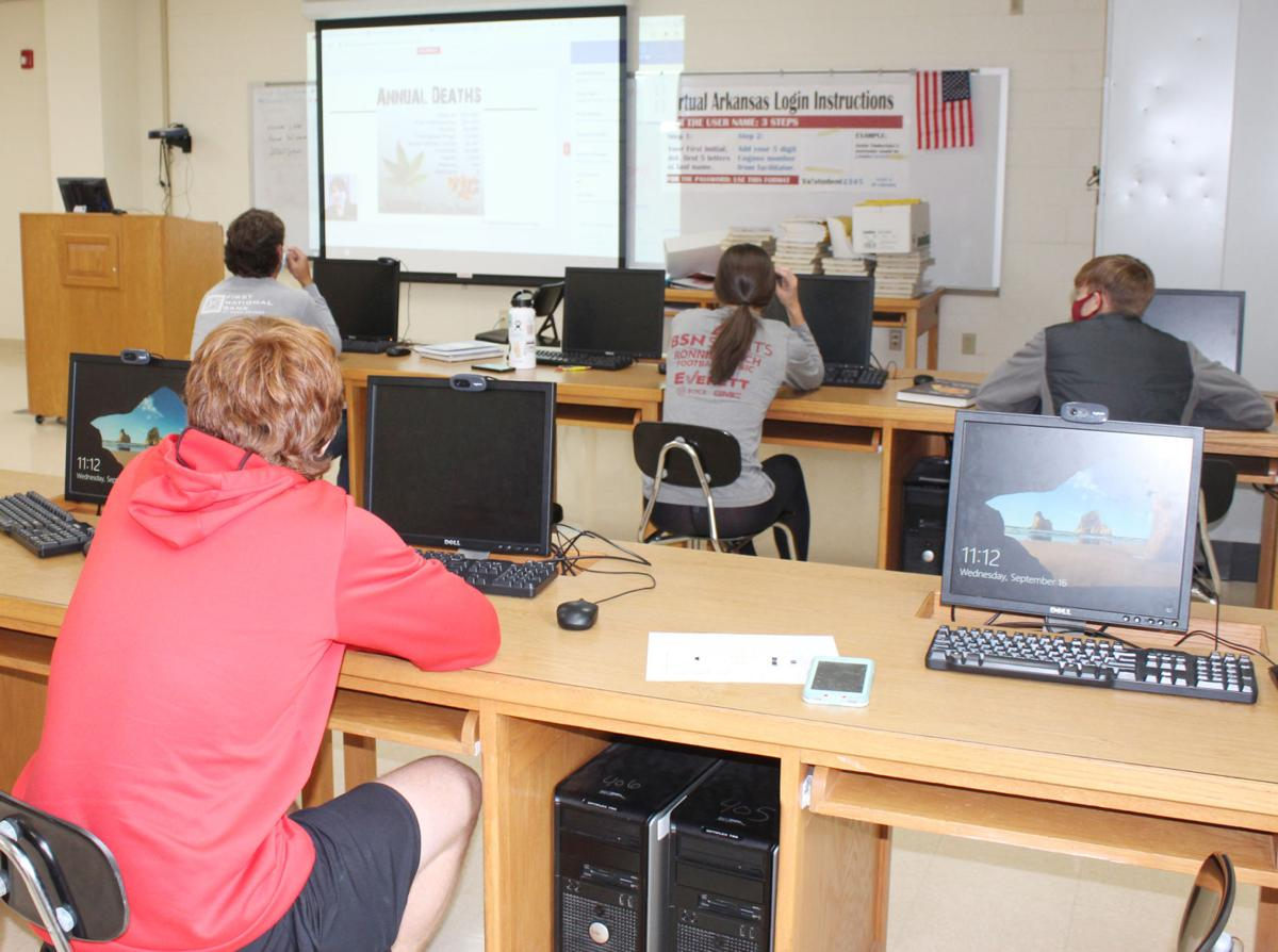 Bearkatz Against Drugs Club members attend virtual conference