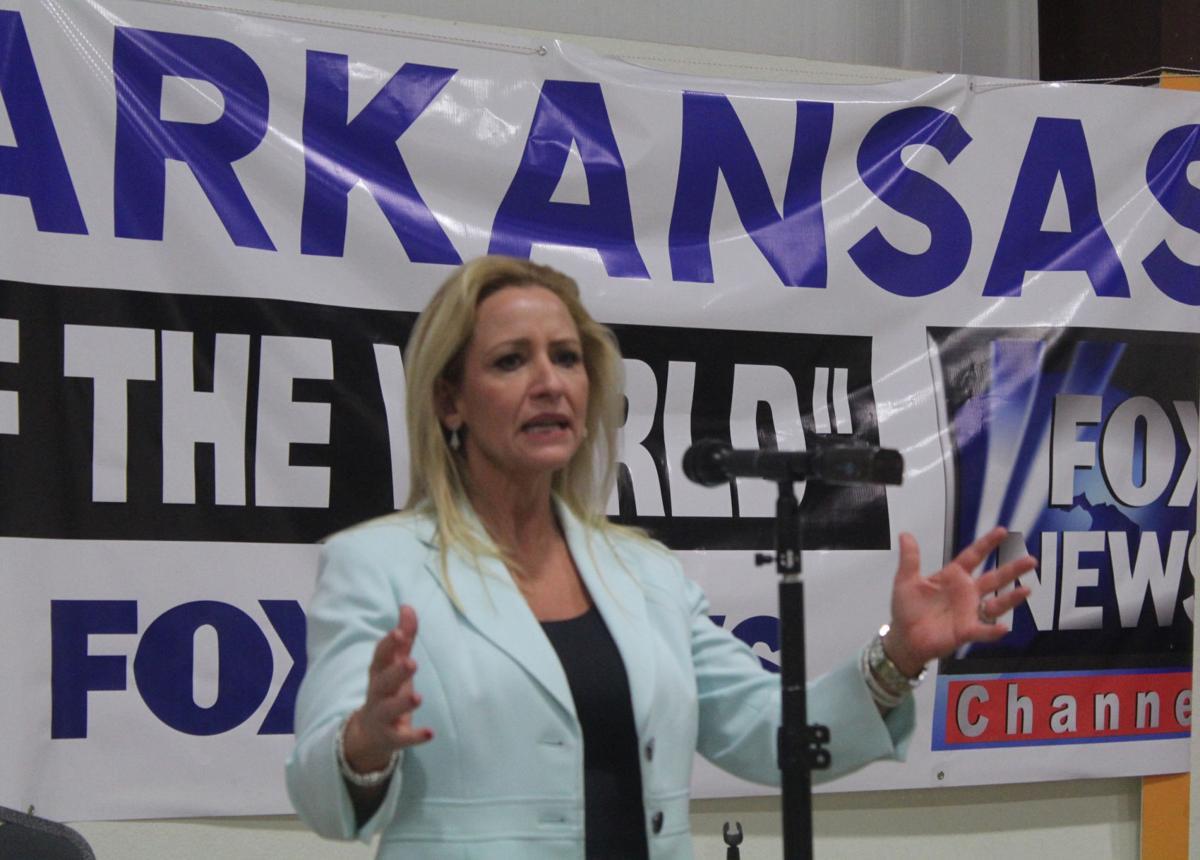 Arkansas Attorney General speaks in Bald Knob