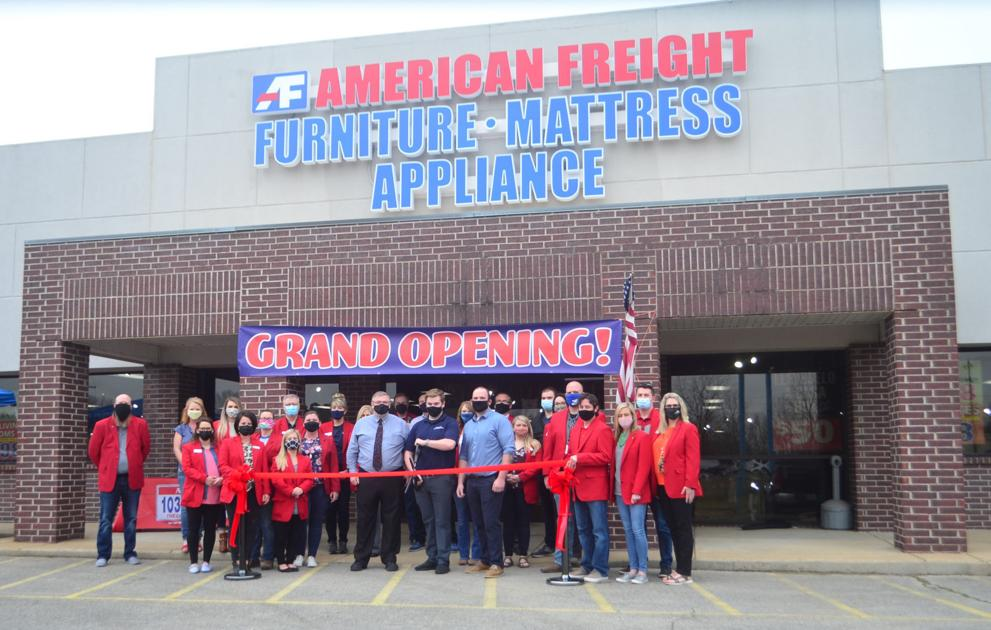 Furniture Ribbon Cutting Ceremony, American Freight Furniture And Mattress