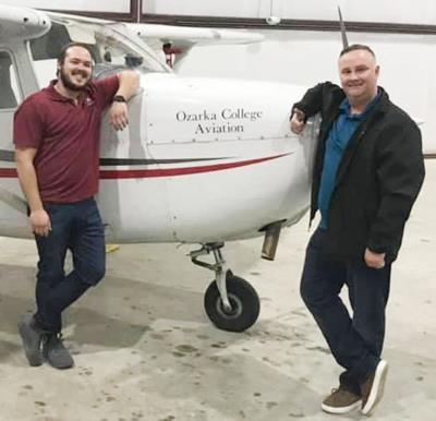 Ozarka flight photo