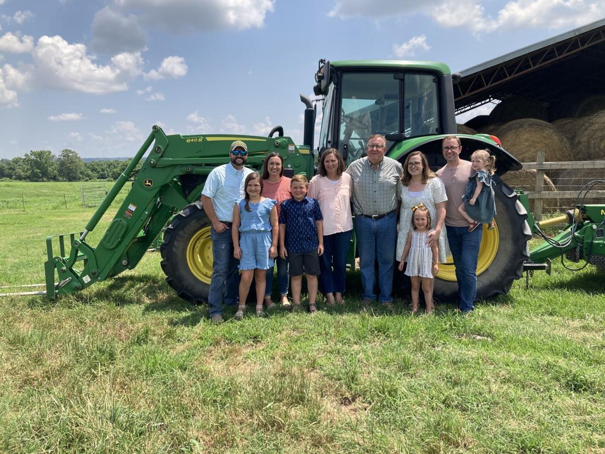 Farm Family Tractor Photo