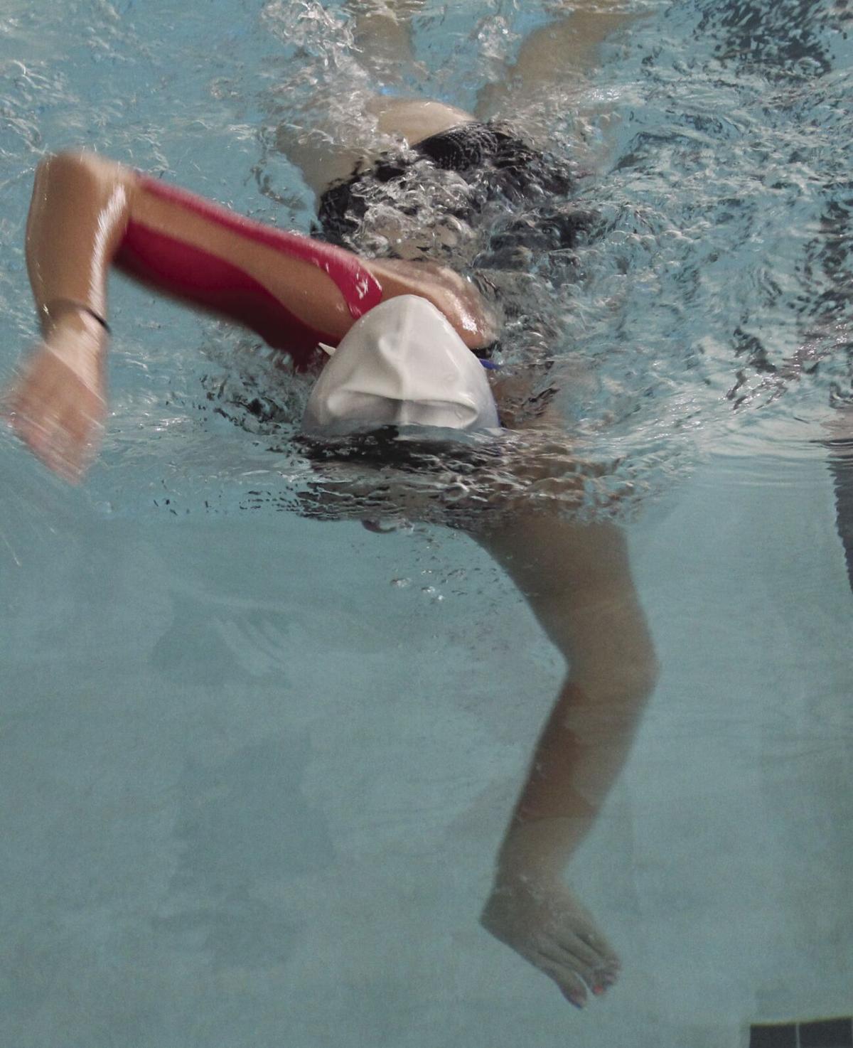 First annual Swim-A-Thon for the Guymon High School swim team