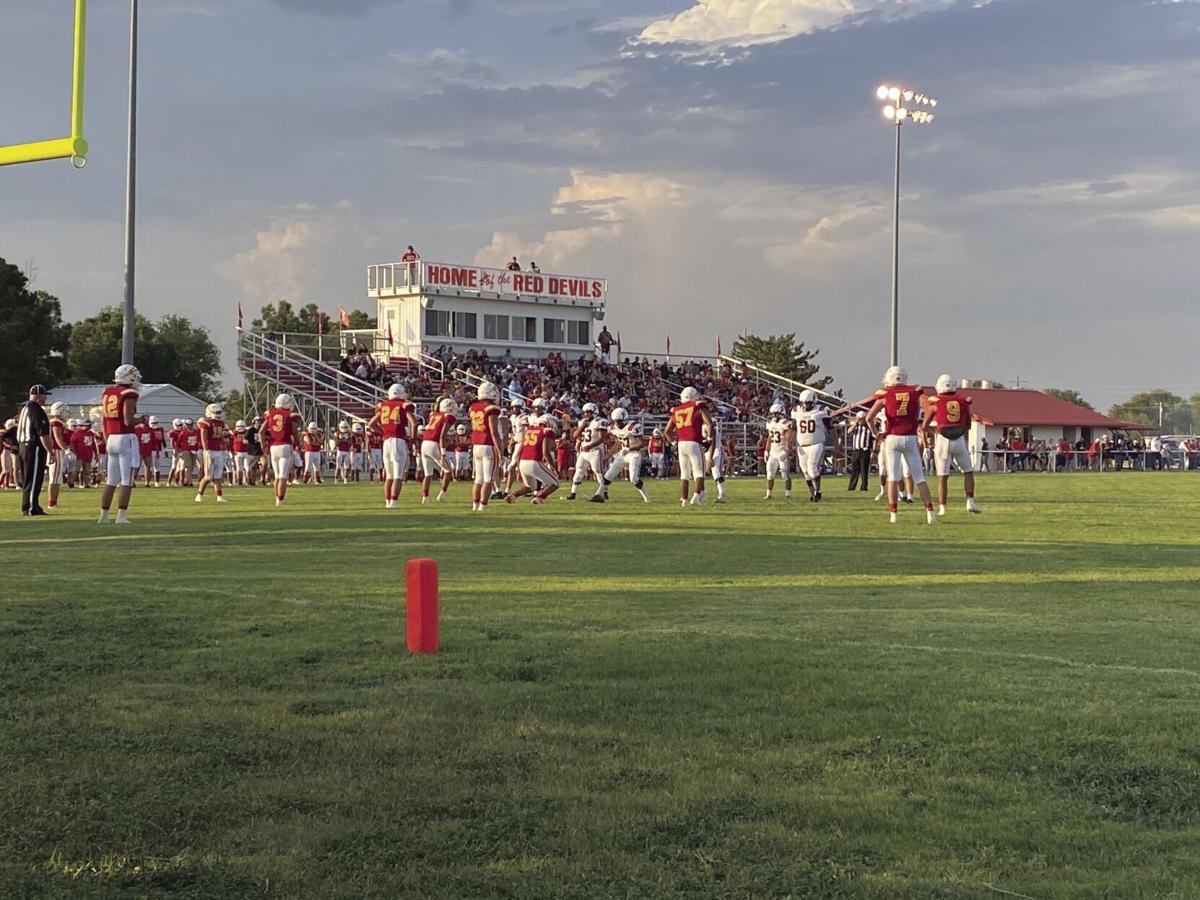 Texhoma High School football defeats Gruver