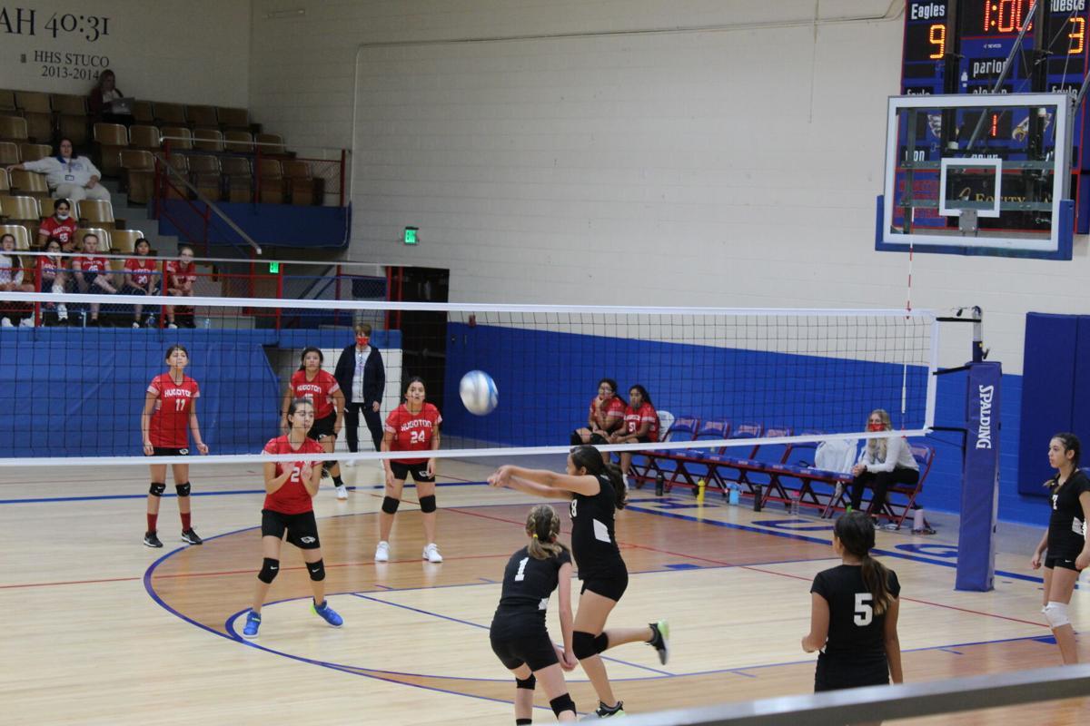 Guymon Junior High Volleyball Teams at Hugoton