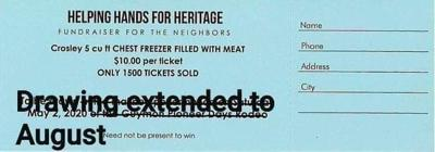 """Helping Hands for Heritage hosts """"Fundraiser for the Neighbors"""""""