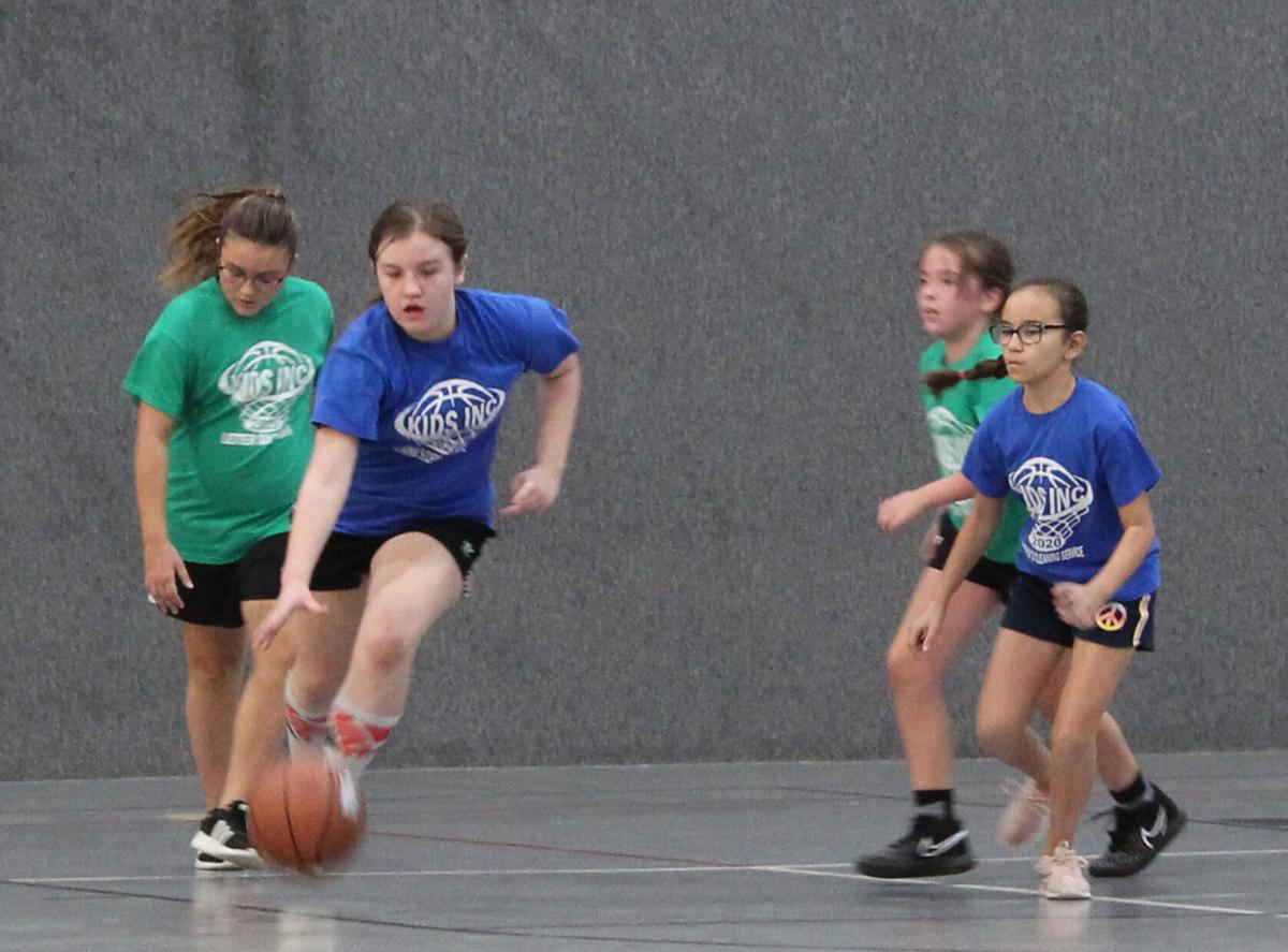 Kids Inc Girls Basketball