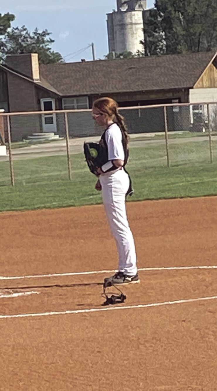 Texhoma High School Softball Scrimmage