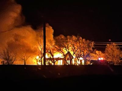 Texhoma Structure Fire