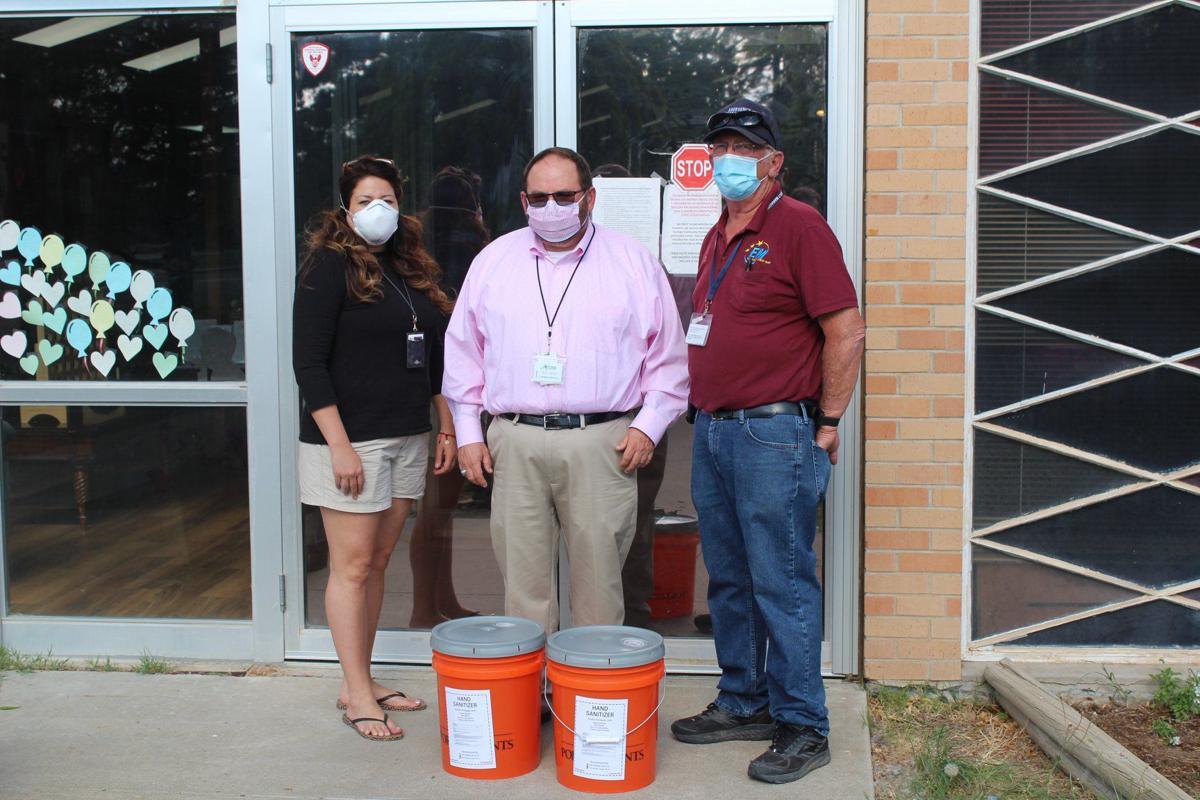 Hand Sanitizer Delivered to Nursing Home