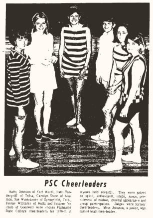 PSC Cheerleaders