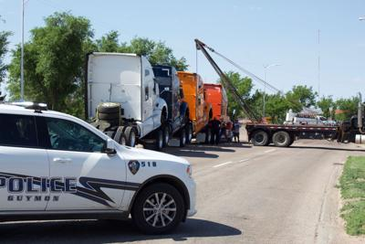 Guymon PD closes highway