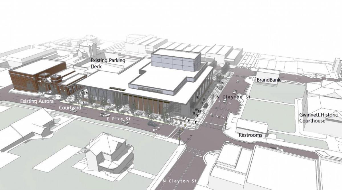 Aurora Theatre $26 million expansion to include one of Georgia's largest performing stages