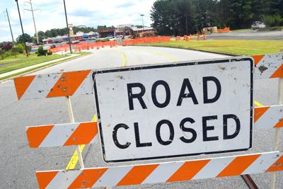 Thompson mill road closed