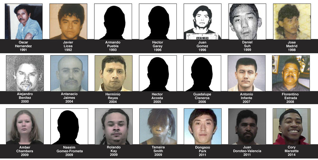 WHEREABOUTS UNKNOWN: 21 suspects remain wanted in Gwinnett murders