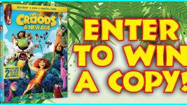 Enter to win a DVD copy of The Croods: A New Age