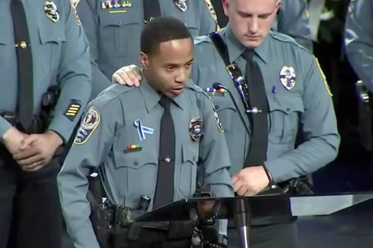 Funeral for fallen Gwinnett officer draws thousands