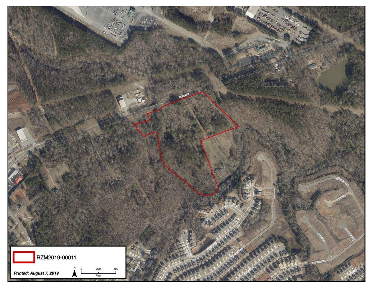 Apartments on Winder Highway proposed site aerial.jpg