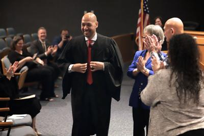 Gwinnett swears-in first Hispanic-Korean judge to Recorder's