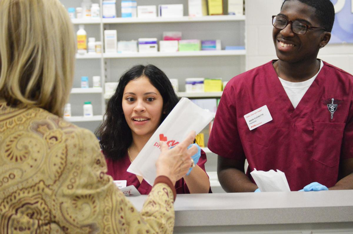 shiloh high school opens cvs mock pharmacy - Cvs Pharmacy Technician Job