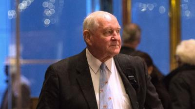 Agriculture Secretary Perdue on climate crisis: 'It rained yesterday, it's a nice pretty day today'