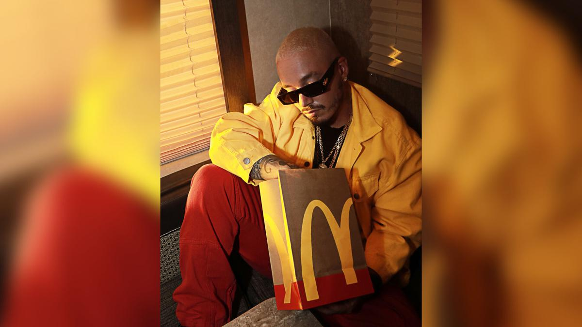 McDonald's teams with singer J Balvin for its newest celebrity meal