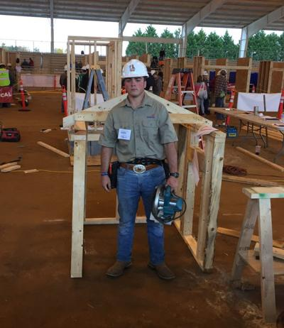 GOOD NEWS FROM SCHOOLS: Maxwell student wins carpentry competition