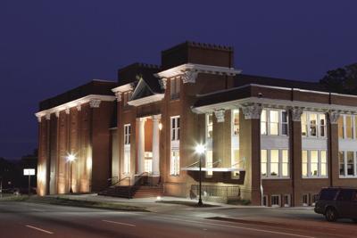 Aurora Theatre At Night