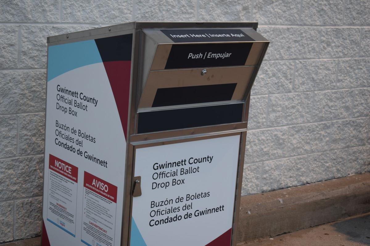 Gwinnett County Installing Eight Absentee Ballot Drop Boxes For Primary Election News Gwinnettdailypost Com