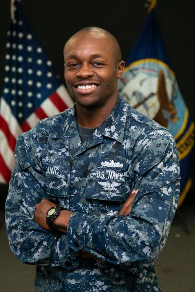 Lawrenceville man serves aboard Navy aircraft carrier