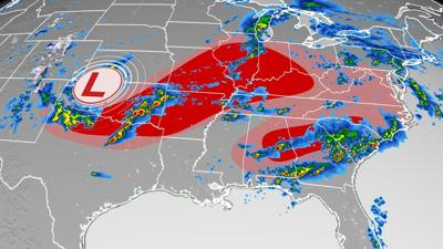 More tornadoes are likely Monday as over 100 million people are at risk for severe storms