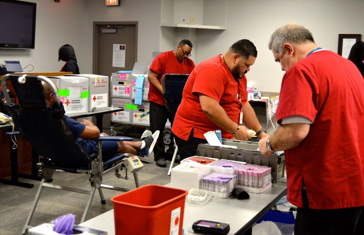 Gwinnett County Sheriff's Office blood drive honors Officer Antwan Toney, his 'humanitarian' nature