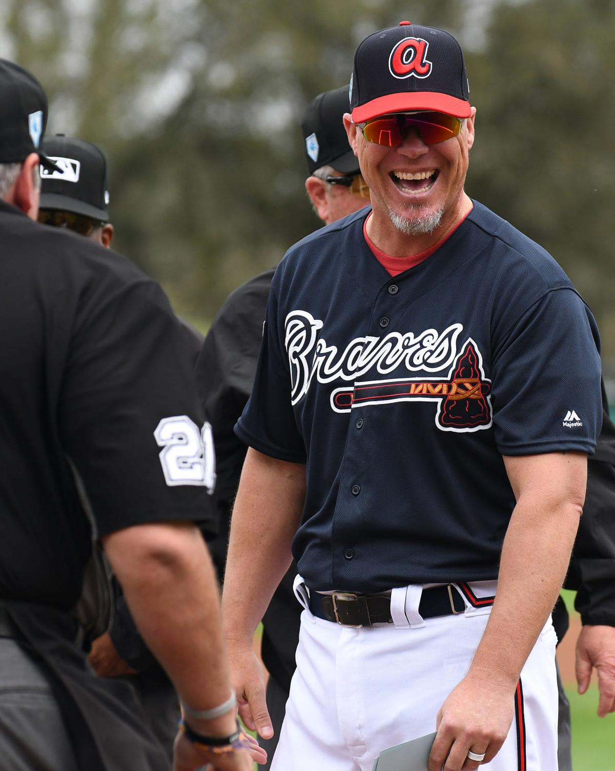 big sale a2f06 276b0 PHOTOS: Atlanta Braves in 2019 Spring Training | Curated ...