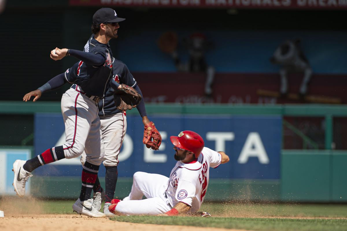 Photos Braves Beat Nationals On Camargos 10th Inning Home