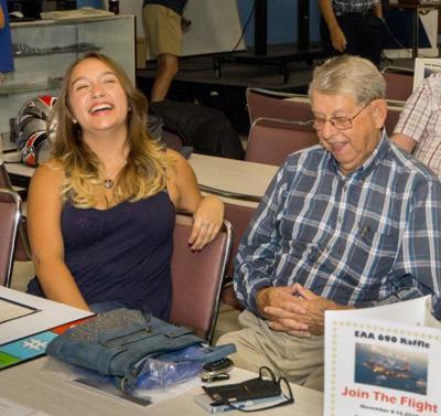 Maria and Dwayne having a laugh.jpg
