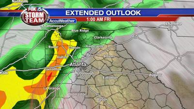 Another blast of severe storms heading toward Georgia, East