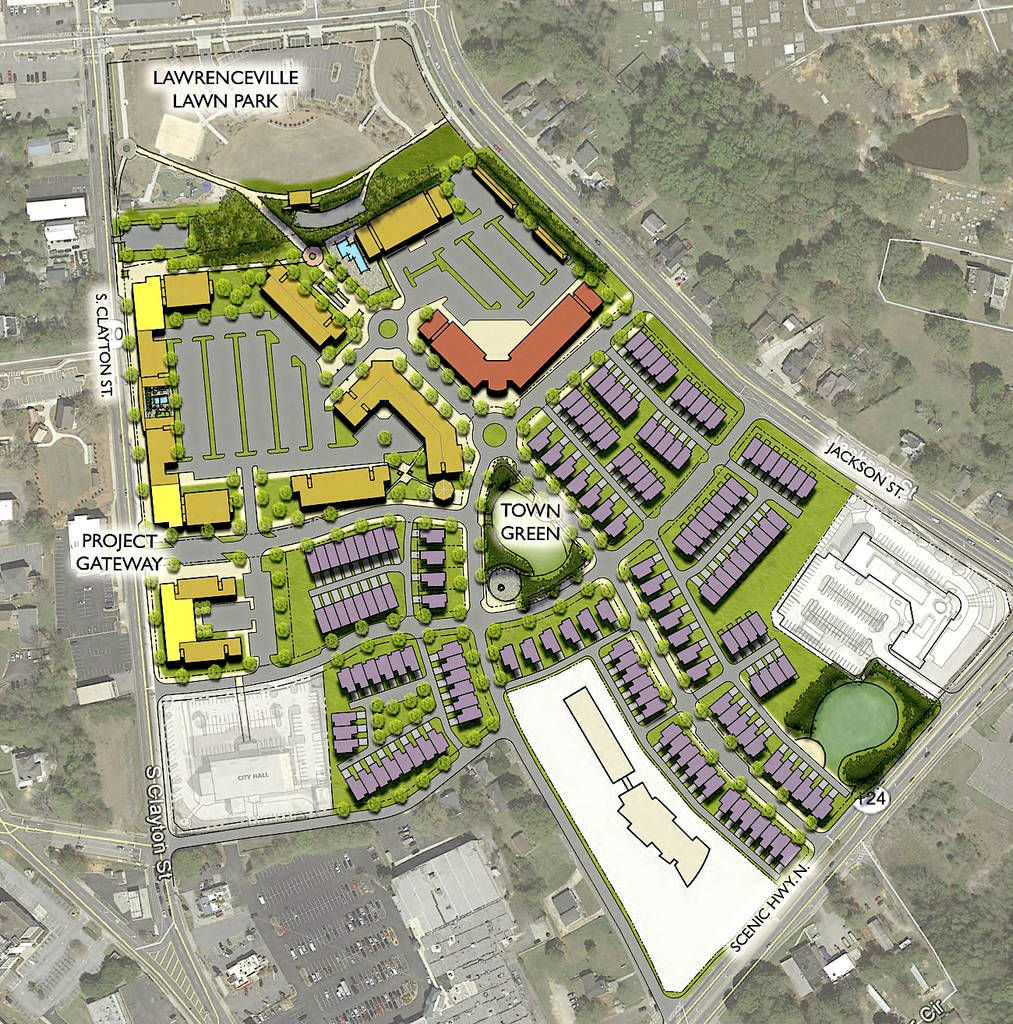 Apartments In Snellville Ga: Lawrenceville Officials Announce $200 Million Mixed-use