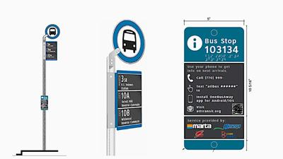 ARC planning new multi-system bus stop signs