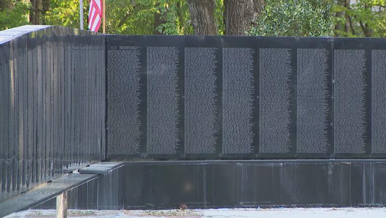 Johns Creek Vietnam Veterans Memorial Vandalized News Gwinnettdailypost Com