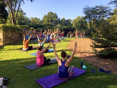 Live Healthy Gwinnett Yoga In The Park