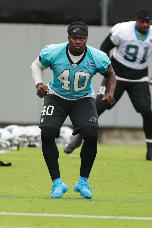 finest selection d68a5 5471f Dacula's Alex Armah finds niche in second NFL season with ...